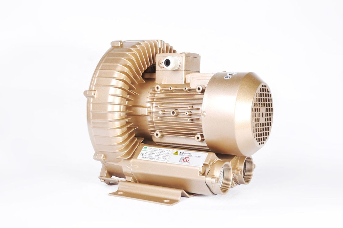 Water Treatment Side Channel Ring Air Blower 2.2kW Aluminium Alloy Material